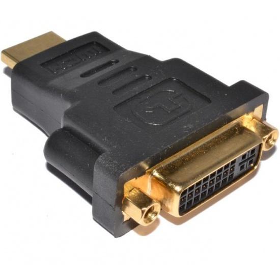 HDMI Male to DVI 24+1 (DVI-D) Female Adapter Image