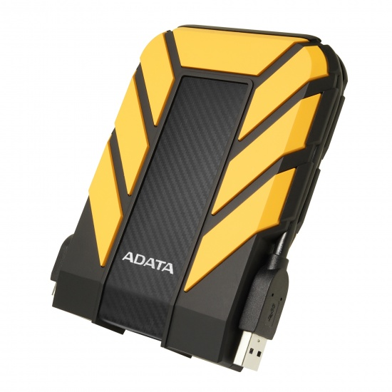 1TB AData HD710 Pro USB3.1 2.5-inch Portable Hard Drive (Yellow) Image