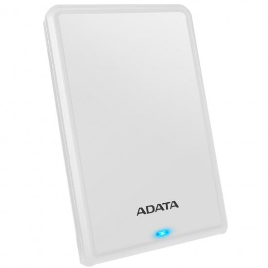 2TB AData HV620S USB3.1 Slim 11.5mm Portable Hard Drive White Image