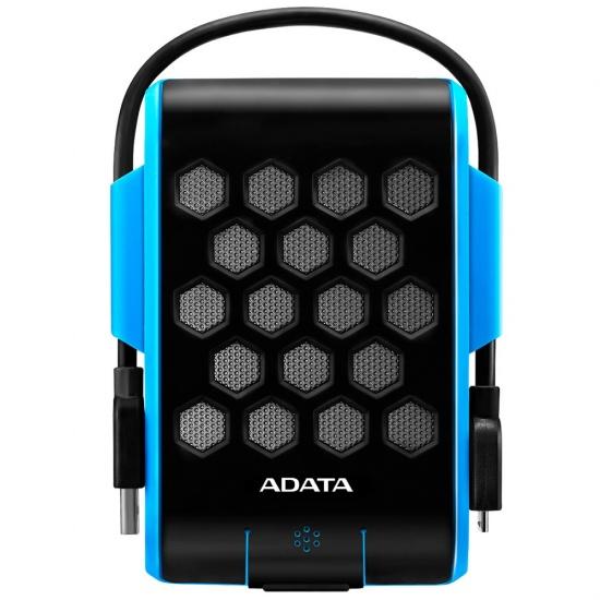 2TB AData HD720 Waterproof Shockproof USB3.1 Portable 2.5-inch Hard Drive - Blue/Black Edition Image