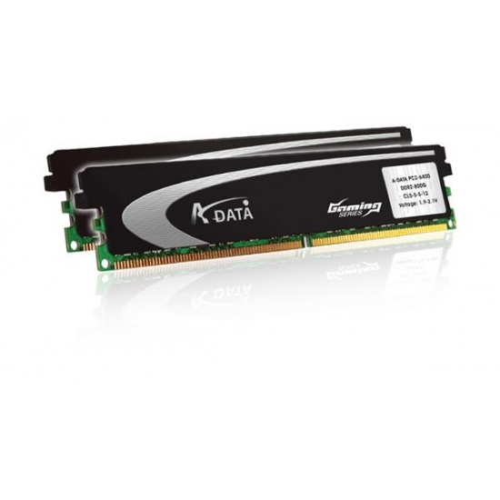 4GB A-Data DDR2 PC2-6400 Gaming Series 800MHz (5-5-5-12) Dual Channel kit Image