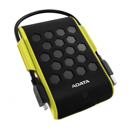 2TB AData HD720 Waterproof Shockproof USB3.0 Portable 2.5-inch Hard Drive - Green/Black Edition Image