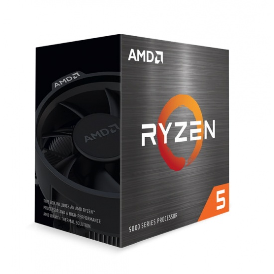 AMD Ryzen 5 5600X 3.7GHz 32MB L3 AM4 CPU Desktop Processor Boxed Image