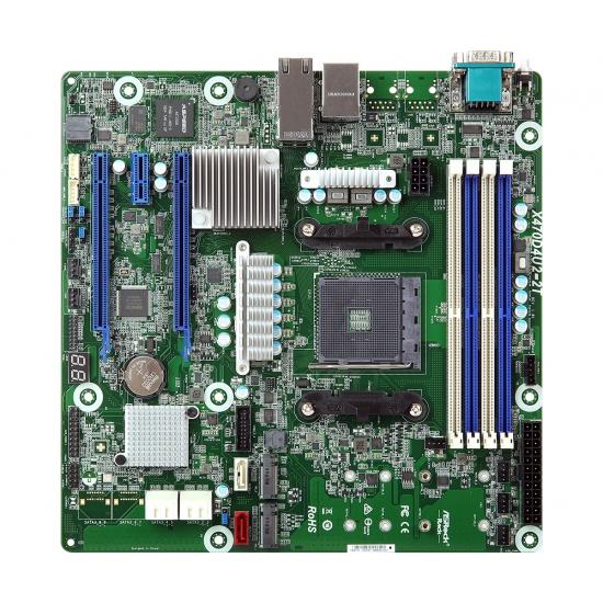 Asrock AMD X470 Micro ATX DDR4-SDRAM Motherboard Image