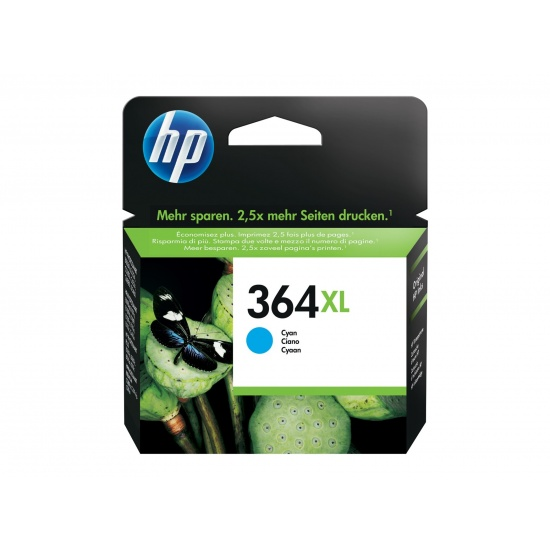 HP 364XL Original Ink Cartridge Cyan Image