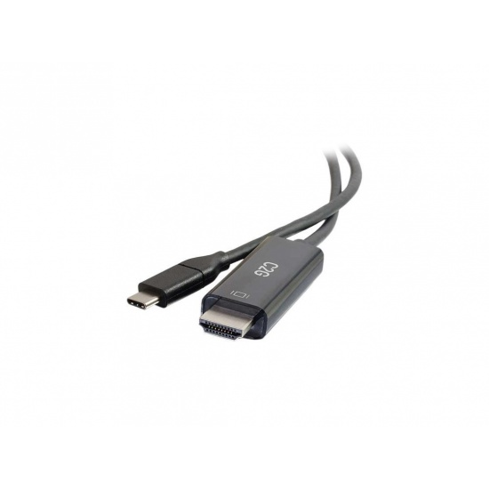 C2G 6ft USB-C to HDMI Audio/Video Adapter Cable Image