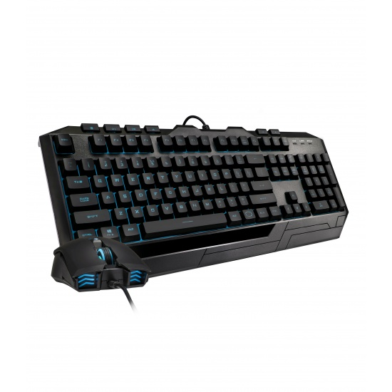 Cooler Master Devastator 3 Plus Wired RGB Mouse and Keyboard Combo - German Layout Image