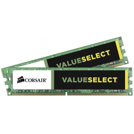 8GB Corsair ValueSelect DDR3 1600MHz PC3-12800 CL11 Dual Channel Memory Kit (2x 4GB) Image