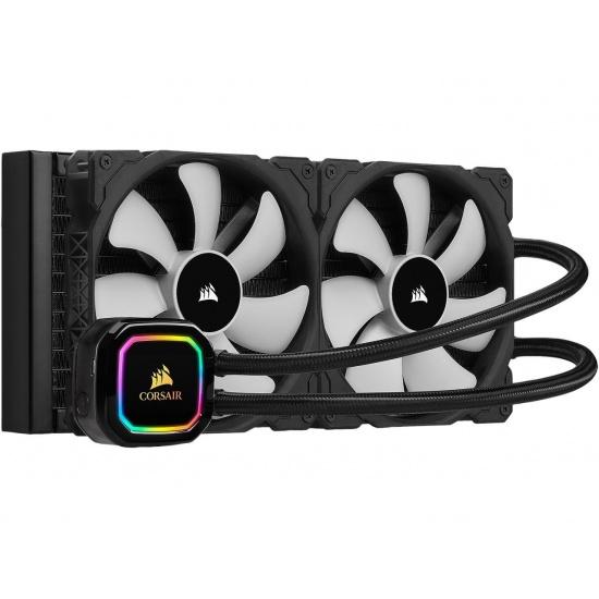 Corsair iCUE H115i Pro XT RGB 120 mm Dual Fan Liquid CPU Cooler Image
