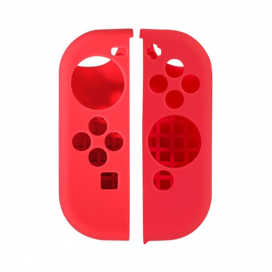 NEON Joy-Con Silicon Protective Cover for Nintendo Switch - Red Image