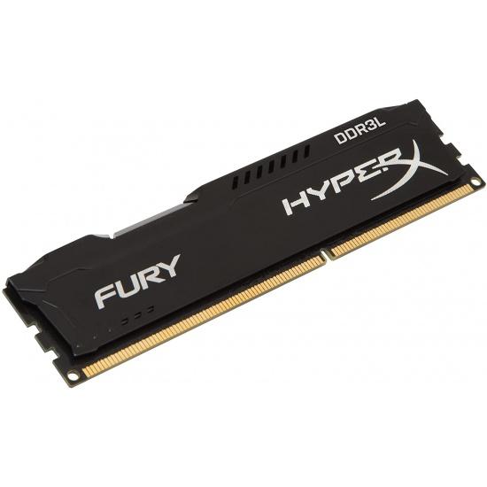 4GB Kingston HyperX Fury PC3-14900 1866MHz CL11 DDR3 Memory Module - Black Image