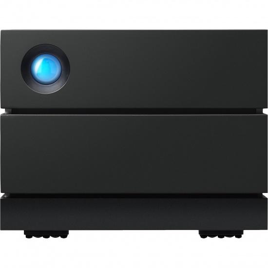 4TB Seagate Lacie 2Big Raid 3.5-inch USB3.1 External Hard Drive - Black Image