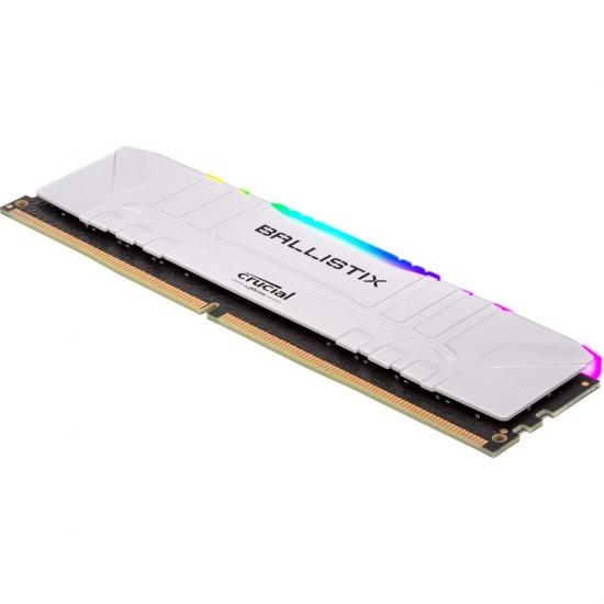 32GB Crucial 3600MHz DDR4 Dual Memory Kit (2 x 16GB) - White Image
