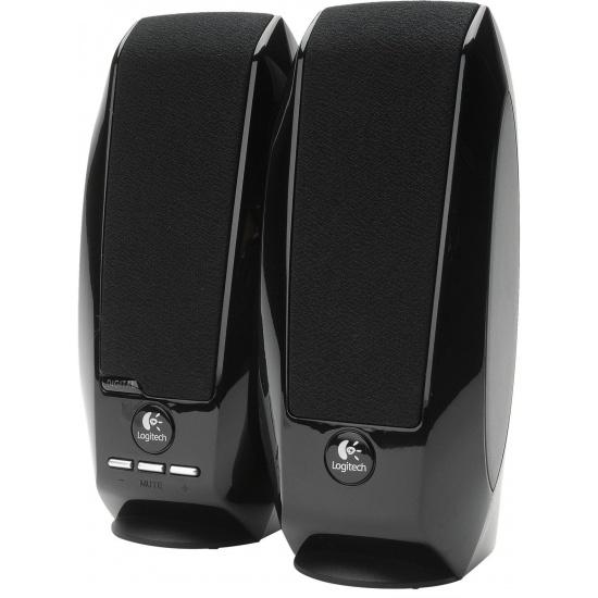 Logitech S150 1.2 Watt 2.0 Digital Speakers - Black Image