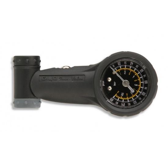 EyezOff EZ05-G Tire Pressure Gauge, Dual-Valve (Presta/Schrader) up to 160 PSI Image
