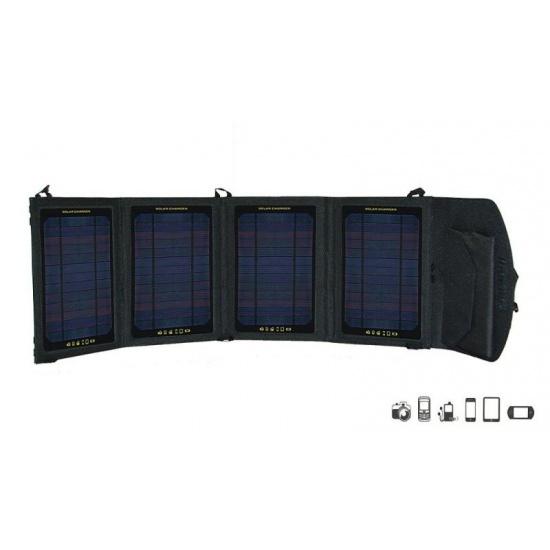 EyezOff SP8 Foldable Solar Panel Pack (14W Capacity) 5V/2.2A Output Image