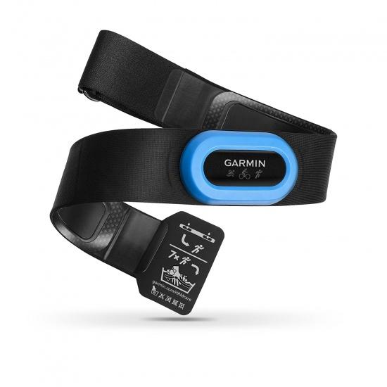 Garmin HRM-Tri Heart Rate Monitor - Black/Blue Image
