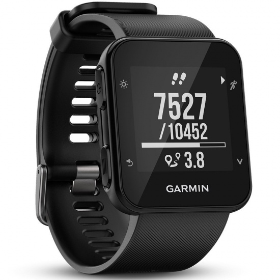 Garmin Forerunner 35 Fitness GPS Running Watch with HRM Black Edition Image