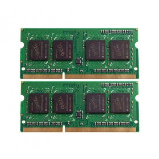 8GB GeIL DDR3 SO-DIMM 1333MHz CL9 Laptop Memory Kit (2x 4GB) 204 pins PC3-10660 (1.35V) Image