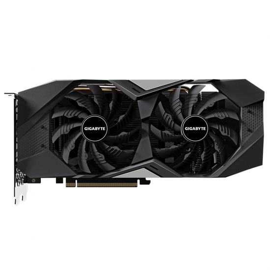 Gigabyte GeForce GTX 1660 Ti Wind Force 100 mm Dual Fan Graphics Card - 6 GB Image