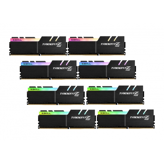 256GB G.Skill DDR4 TridentZ RGB 3600Mhz PC4-28800 CL16 1.45V Octople Channel Kit (8x 32GB) Image