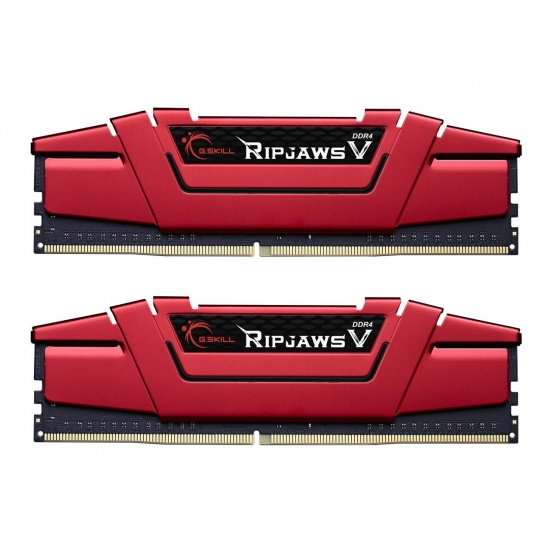16GB G.Skill DDR4 PC4-17000 2133MHz Ripjaws V for Intel Z170/X99 CL15 Dual Channel kit (2x8GB) 1.20V Image