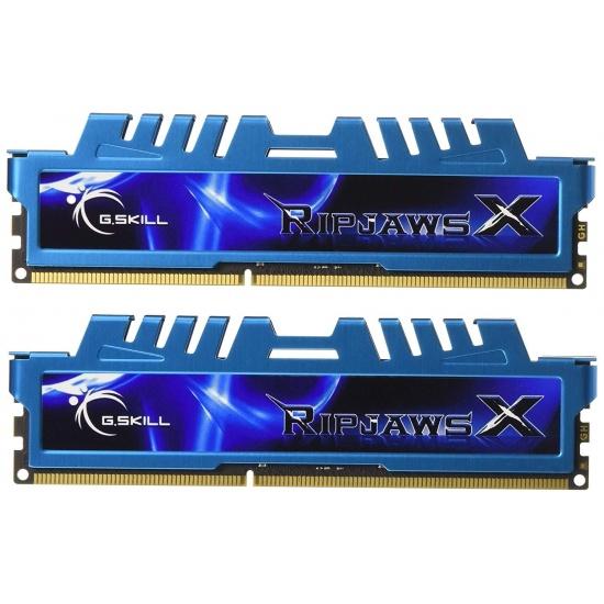 8GB G.Skill DDR3 PC3-12800 1600MHz RipjawsX Series for Intel Z68/P67 CL7 Dual Channel Kit (2x 4GB) Image