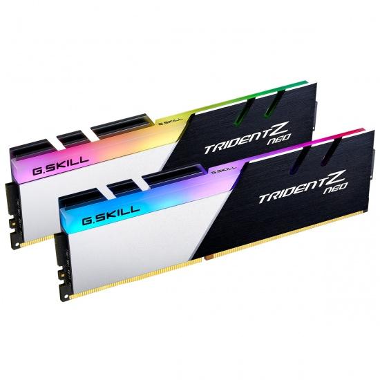 32GB G.Skill Trident Z Neo DDR4 3200MHz PC4-25600 CL16 RGB Dual Channel Kit (2x 16GB) Image