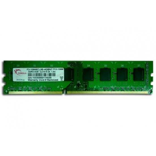 4GB G.Skill DDR3 PC3-10600 1333MHz CL9 NT Series Desktop memory module Image
