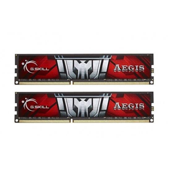 8GB G.Skill Aegis DDR3 PC3-12800 1600MHz Dual Channel kit (CL11) Low-voltage 1.35V Image
