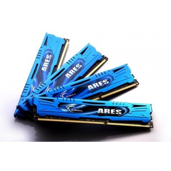 16GB G.Skill DDR3 PC3-17000 2133MHz Ares Series Low Profile (9-11-20-28) Quad Channel kit Image