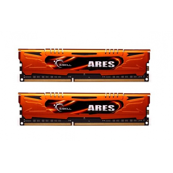 8GB G.Skill DDR3 PC3-12800 1600MHz Ares Series Low Profile (9-9-9) Dual Channel kit Image