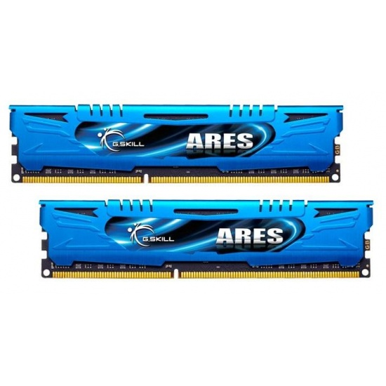 8GB G.Skill DDR3 PC3-19200 2400MHz Ares Series Low Profile (11-13-13-31) Dual Channel kit Image