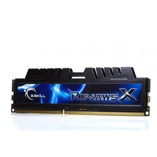 4GB G.Skill DDR3 PC3-12800 1600MHz RipjawsX Series for Sandy Bridge (6-8-6-24) Dual Channel kit Image