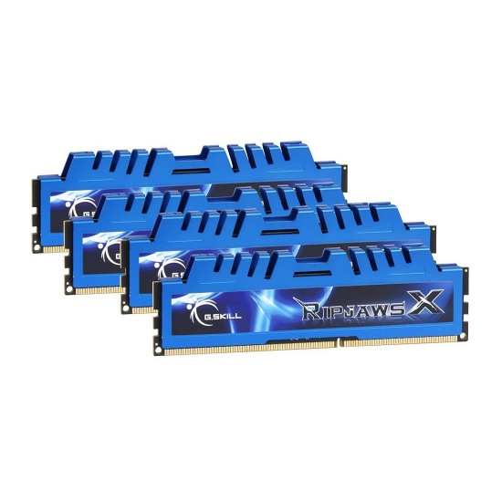 32GB G.Skill DDR3 PC3-17000 2133MHz RipjawsX Series (10-12-12-31) Quad Channel Kit 4x8GB Image