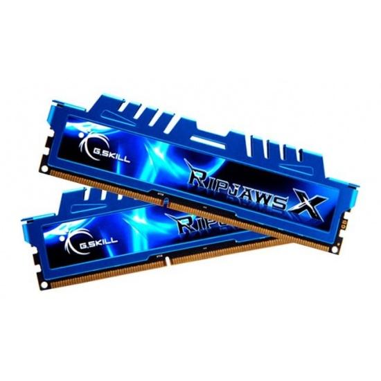 16GB G.Skill DDR3 PC3-12800 1600MHz RipjawsX Series (9-9-9-24) Dual Channel Kit 2x8GB Image