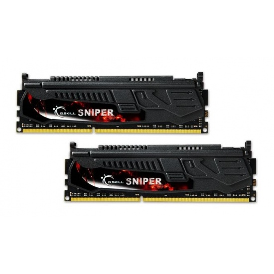 8GB G.Skill DDR3 PC3-19200 2400MHz Sniper Series (11-13-13-31) Dual Channel kit Image