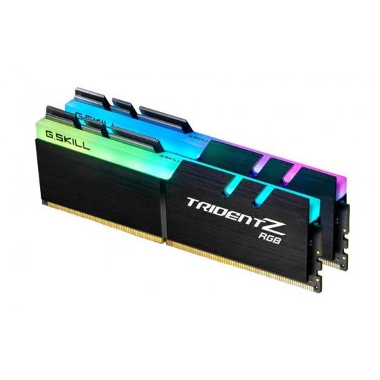 16GB G.Skill DDR4 TridentZ RGB 4133Mhz PC4-33000 CL17 1.4V Dual Channel Kit (2x8GB) Image