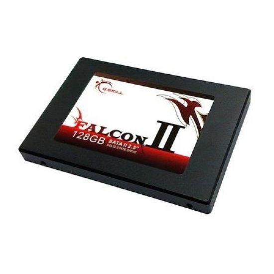 128GB G.Skill Falcon II SSD Solid State Disk MLC (64MB cache, 220MB read/150MB write speed) Image