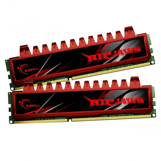 8GB G.Skill DDR3 PC3-12800 1600MHz Ripjaw Series (9-9-9-24) Dual Channel kit for Intel LGA1156/AM3 Image