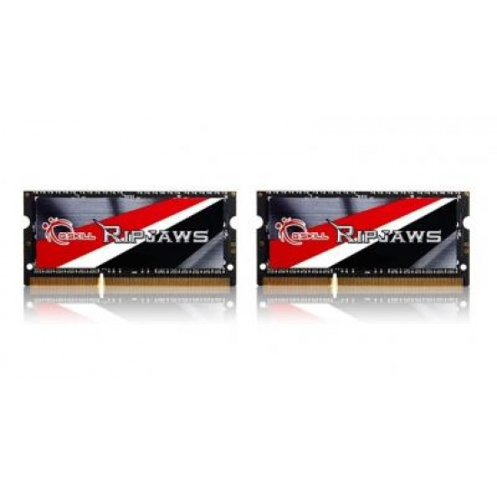 8GB G.Skill Ripjaws DDR3 1600MHz SO-DIMM Low-voltage 1.35V Laptop Memory Kit (2x 4GB) CL9 Image