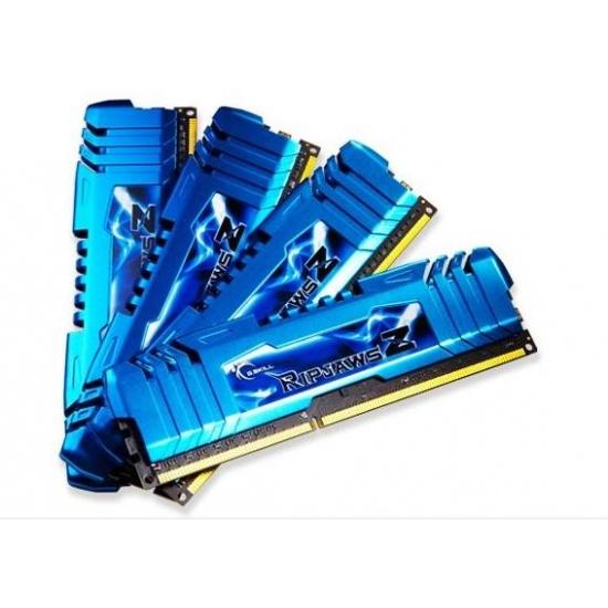 16GB G.Skill DDR3 2133MHz PC3-17000 RipjawsZ Series (10-12-12-31) Quad Channel kit 4x4GB Image