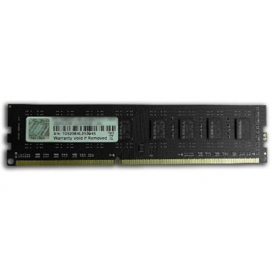 8GB G.Skill DDR3 PC3-12800 1600MHz CL11 NT Series Desktop memory module Image
