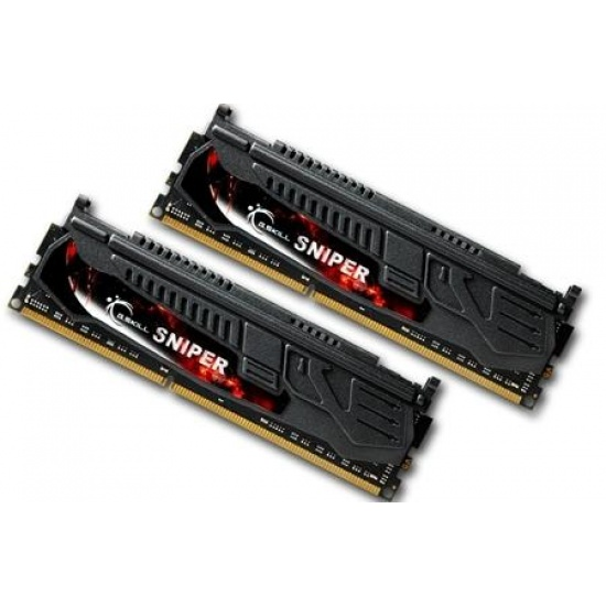 8GB G.Skill DDR3 PC3-12800 1600MHz Sniper Series (9-9-9-24) Dual Channel kit Image