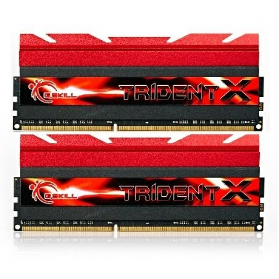 8GB G.Skill DDR3 PC3-19200 2400MHz TridentX Series CL10 (10-12-12-31) Dual Channel kit Image