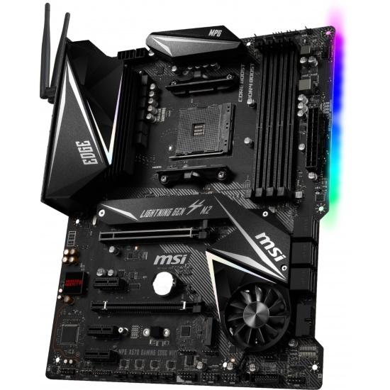 MSI Gaming Edge AM4 AMD X570 ATX DDR4 Motherboard Image