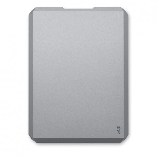 4TB Seagate LaCie USB3.1 Portable External Hard Drive - Space Grey Image
