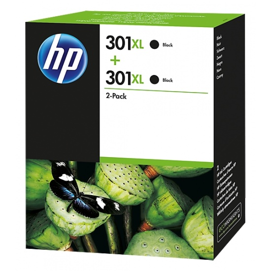 HP 301XL Multi-pack Ink Cartridge Black Image