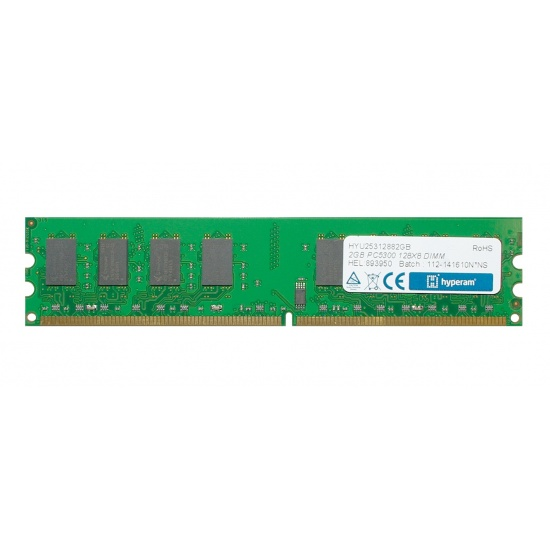 2GB Hyperam DDR2 667MHz PC2-5300 240-Pin Desktop Memory Module CL5 Image