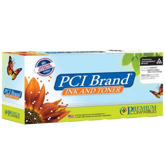 PCI Branded Laser Toner Cartridge (Compatible with Brother) TN-450 - Black - 2600 Page Yield  Image